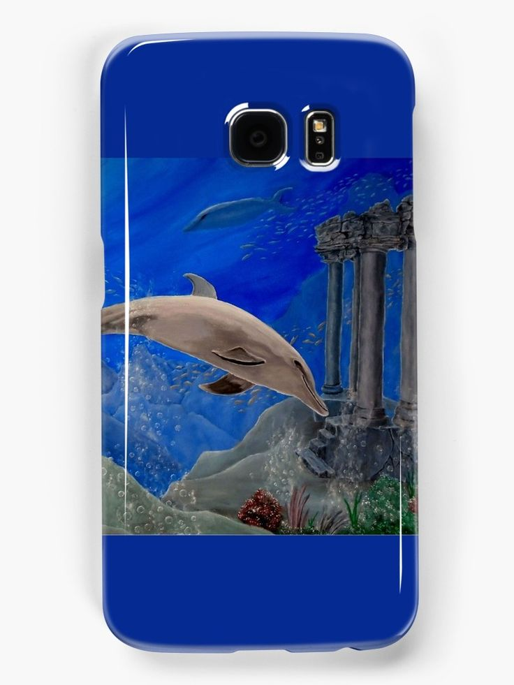 Galaxy Case,  aqua,blue,cool,beautiful,fancy,unique,trendy,artistic,awesome,fahionable,unusual,accessories,for sale,design,items,products,gifts,presents,ideas,dolphin,wildlife,redbubble