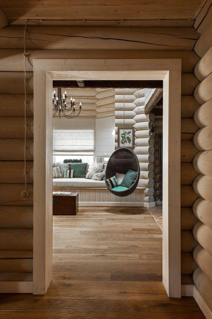 дневник дизайнера: Скандинавский интерьер загородного деревянного дома в Подмосковье