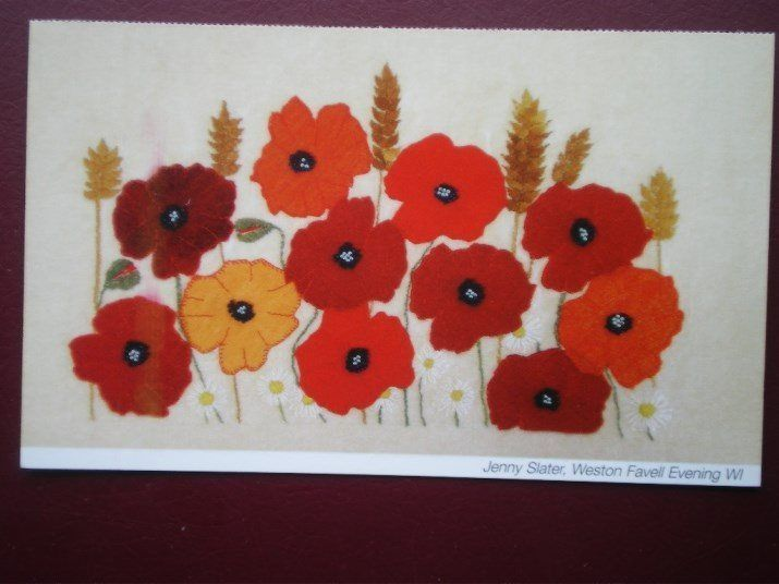 POSTCARD EXAMPLE OF CROSS STICHTING / QUILTING 9   eBay