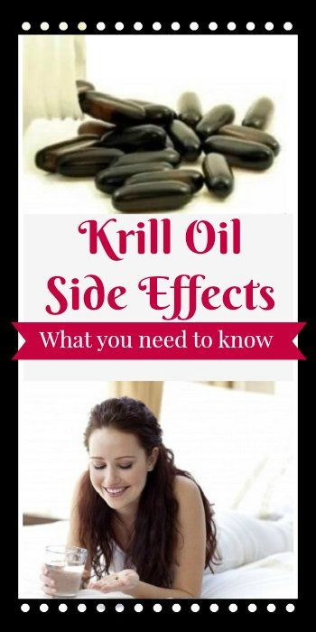 129 best images about krill oil benefits and tips on for Side effects fish oil
