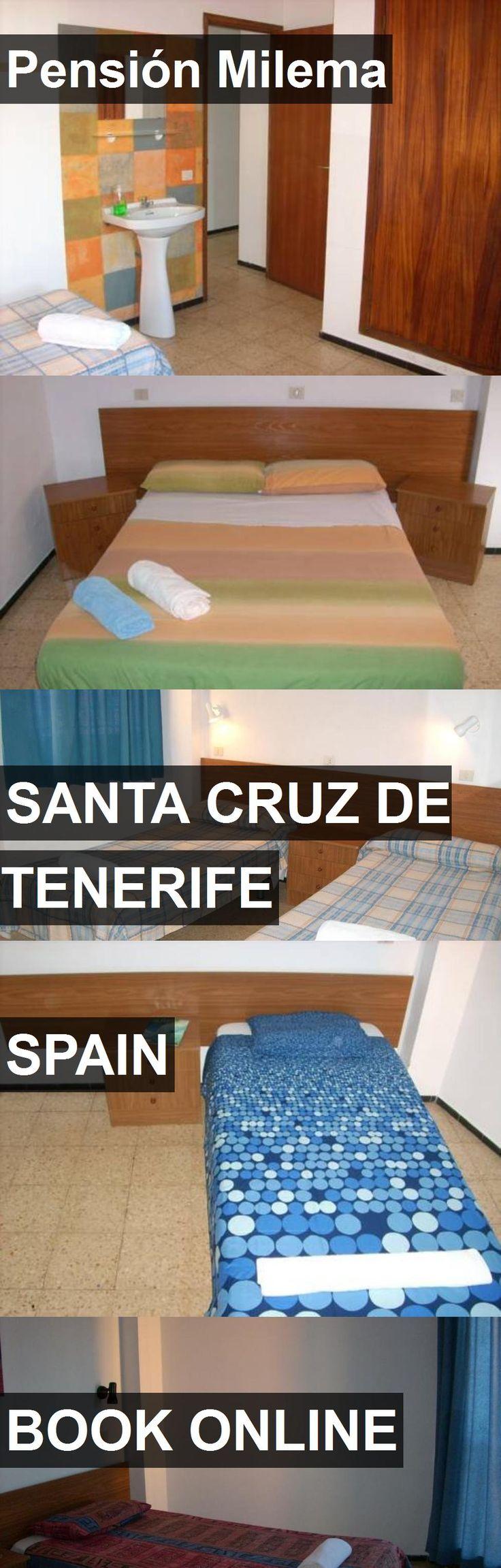 Hotel Pensión Milema in Santa Cruz de Tenerife, Spain. For more information, photos, reviews and best prices please follow the link. #Spain #SantaCruzdeTenerife #hotel #travel #vacation