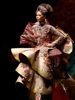 Guo Pei is truly extraordinary.