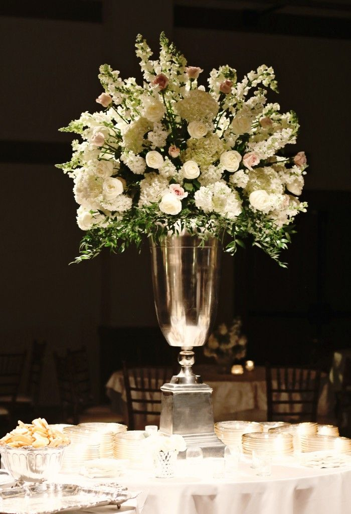 Blush roses white hydrangea and snapdragon