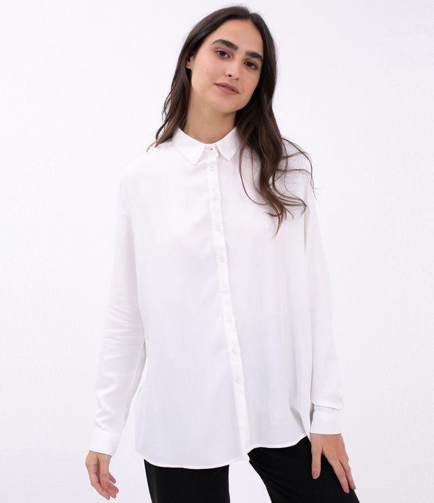 696605747b Camisa feminina Manga longa Básica Marca  Blue Steel Tecido  viscose  Composição  100%