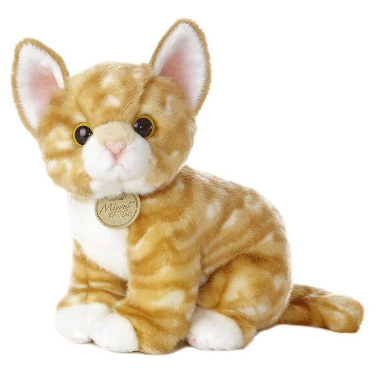 Miyoni - Orange Tabby Kitten 10in