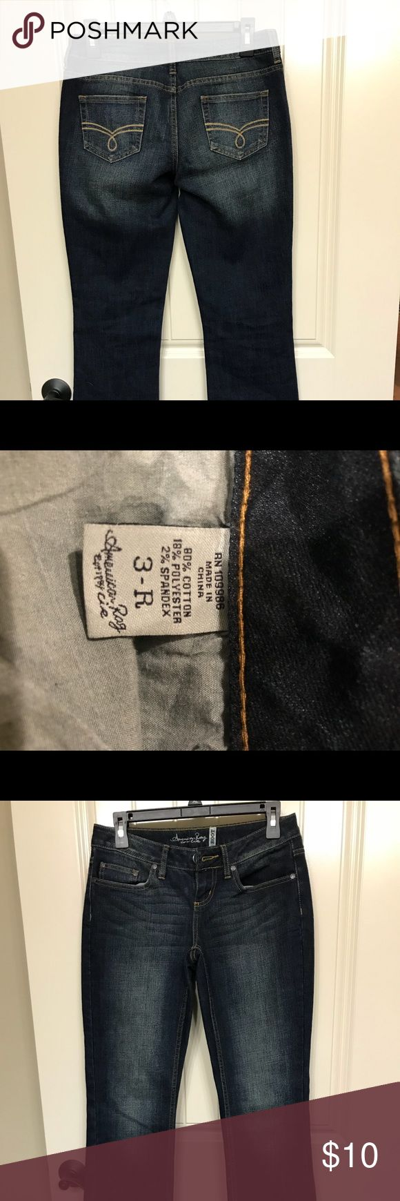 American Rag jeans Excellent condition. Worn a few times. Size 3 boot cut American Rag Jeans Boot Cut