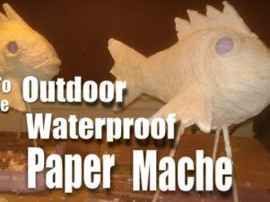 waterproof paper mache                                                                                                                                                      More