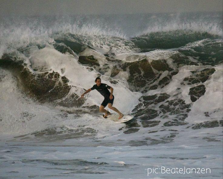 El Medano / Playa Tejita,  french surfer