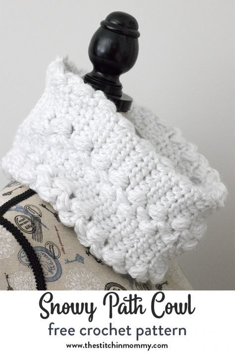 Snowy Path Cowl - Free Crochet Pattern (Make it for Me 2018 | Craft ...