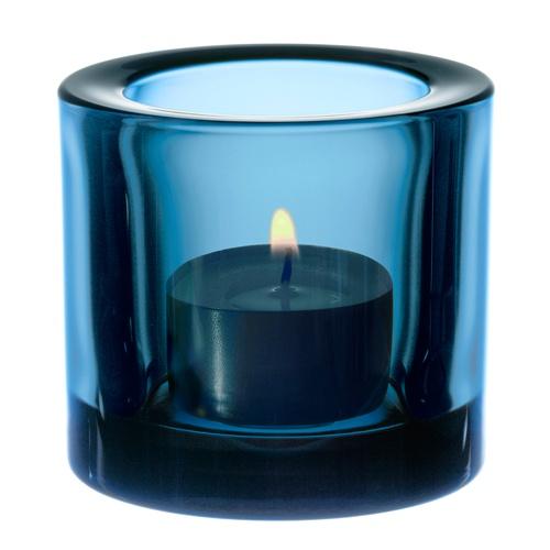 iittala Kivi Candle Holder - Light Turquoise  $15.00