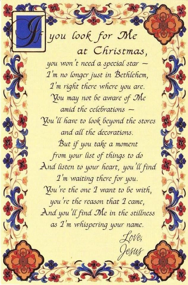 Beautiful Christmas Message!