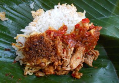 Resep Cara Membuat Nasi Jinggo Bali Yang Enak