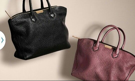 burberry bags & wallets
