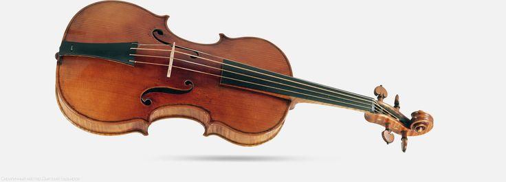 Мастеровая барочная скрипка