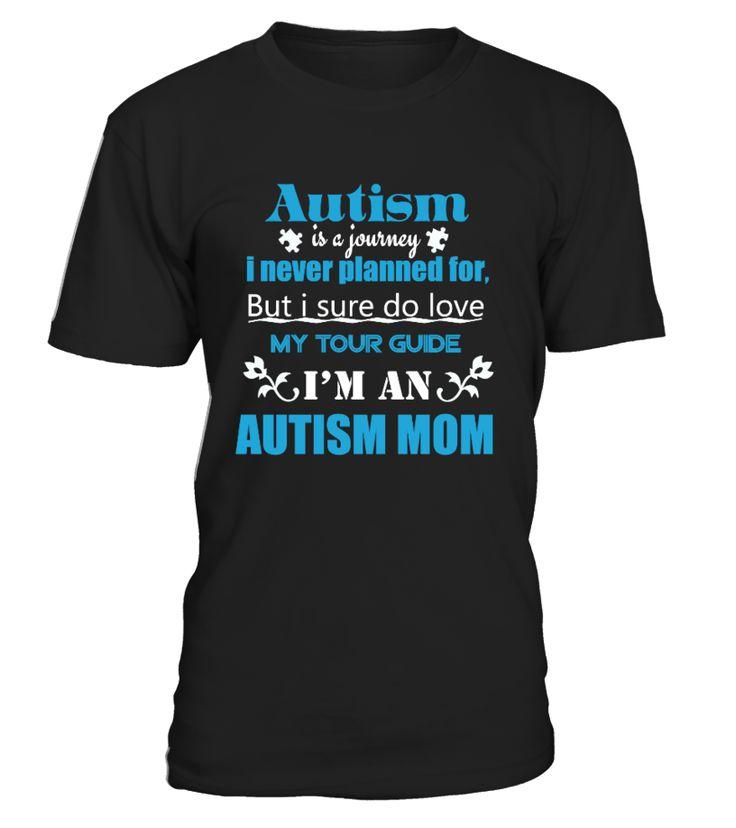 Autism Awareness Shirt For Mom  Funny Autism T-shirt, Best Autism T-shirt