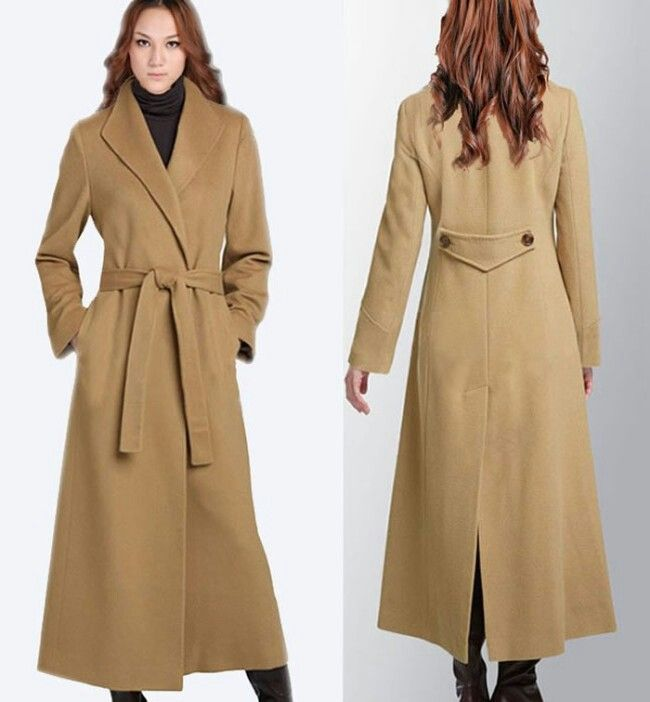 14 best Long coats images on Pinterest | Long wool coat, Fall ...