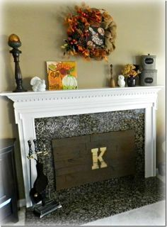 fireplace cover