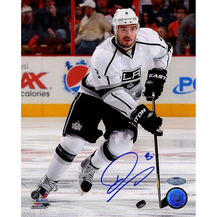 Drew Doughty Signed Skating 8x10 Photo