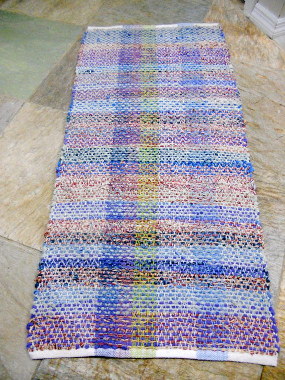 Cottage Cotton Rag Rug By Genisepark On Etsy, $90.00