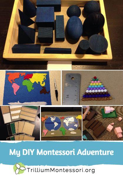 DIY Montessori Materials great for homeschoolers