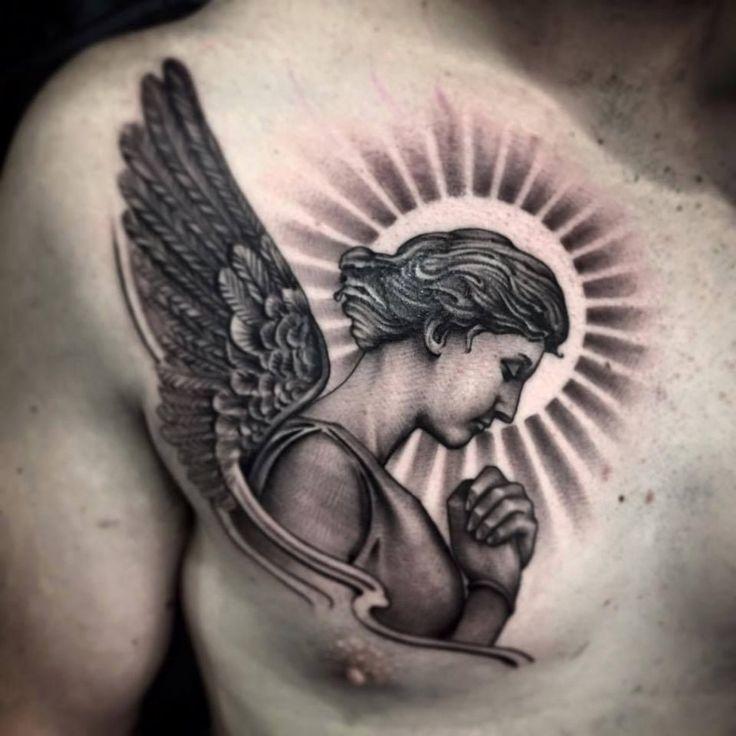 фото тату ангелами реки