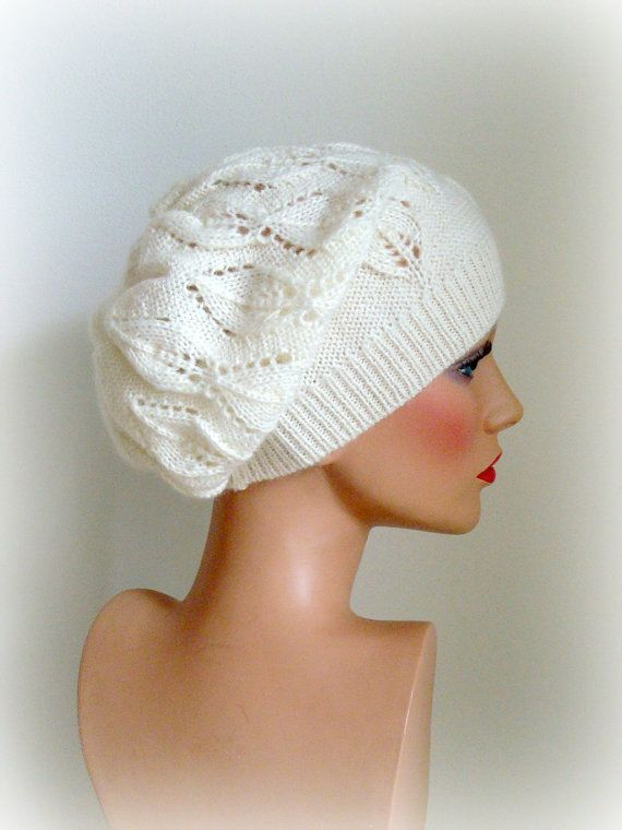 Hand Knit Hat Womens Hat  The Weekender Slouchy by InkaBoutique, $36.00