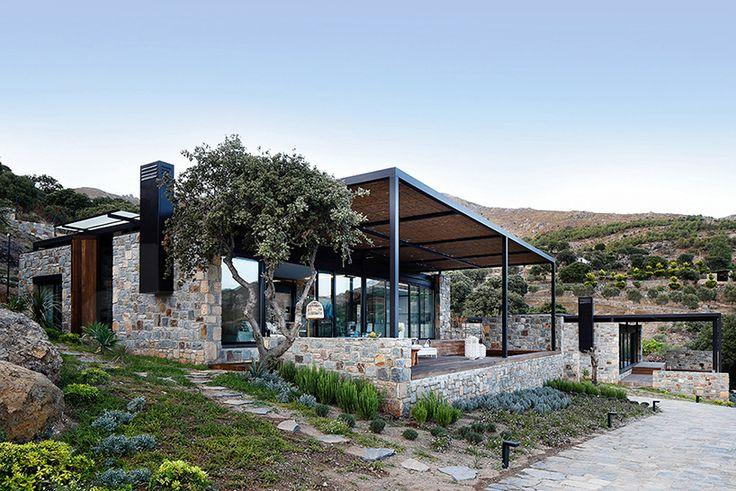 Modern Finishes Meet Traditional Stone in Resort Villas in Turkey - http://freshome.com/modern-finishes-traditional-stone-resort-villas-turkey/