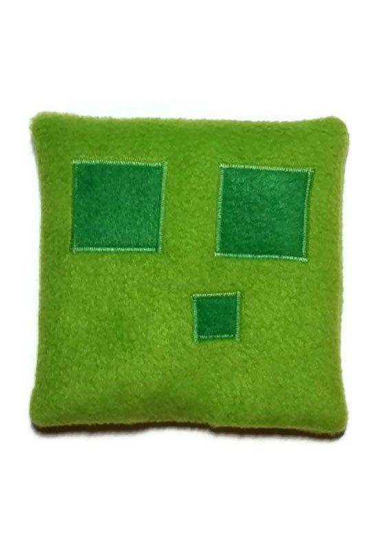 Minecraft Slime, Rice Heat pack, Microwave heating pad, Homemade heating pads, handmade reusable heating packs, fleece cold compress by CozyComfortsByJackie on Etsy  $15.00