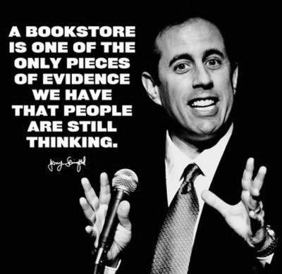 A great quote by Jerry Seinfeld.