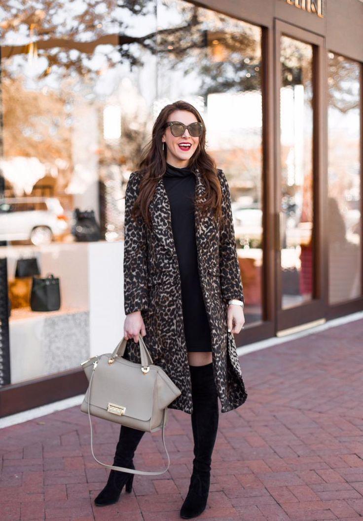 f1cde4eb9263 Longline Leopard Coat & Nordstrom Giveaway! | Street Style/Fellow ...