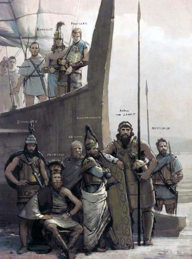 """The Achaean elite brought many assets to the endeavour against Troy"", José Daniel Cabrera Peña & Rocío Espín Piñar"