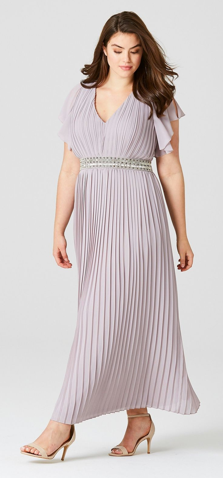 45 plus size wedding guest dresses with sleeves plus