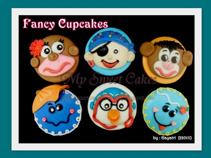 Another fancy cupcakes