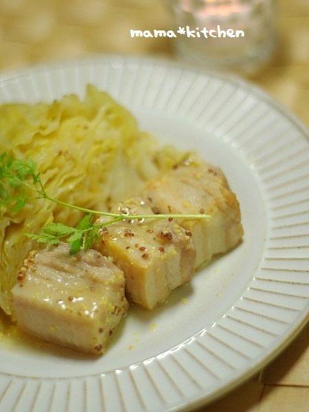 塩豚とキャベツのマスタード煮 by Mayu* | レシピサイト「Nadia ...