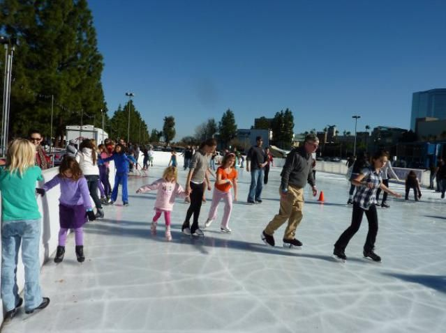 When LA Freezes Over: Ice Skating in the Sun with These Outdoor Ice Rinks in LA: Woodland Hills Ice