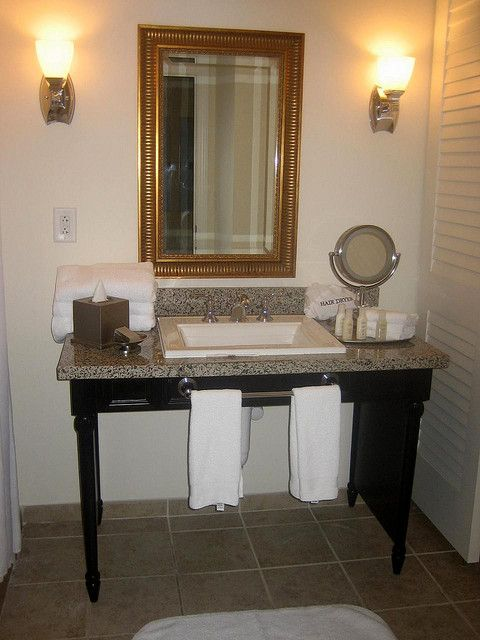 Wheelchair accessible bathroom sinks accessible sink bathrooms pinterest photos for Wheelchair accessible sink bathroom