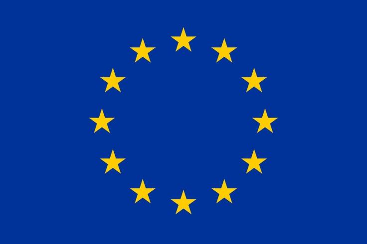 blau, Europa-Flagge
