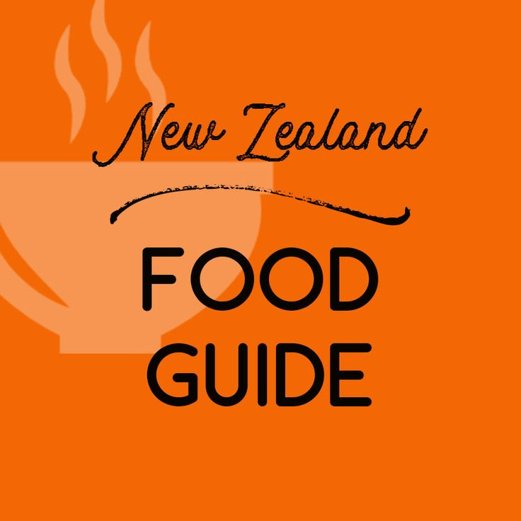 Food guide to New Zealand Pinterest board.