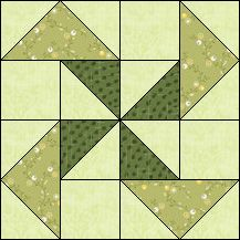 Block of Day for November 06, 2016 - See Saw-strip piecing-The pattern may be downloaded until: Tuesday, November 29, 2016.