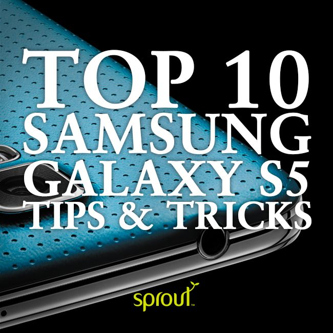 Top 10 Samsung Galaxy S5 tips and tricks