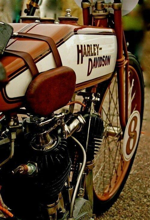 Early 1900's Harley Davidson