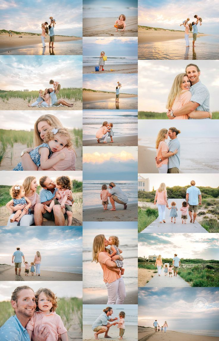 Virginia Beach Photographers – Sunset Family Mini Session – Ka