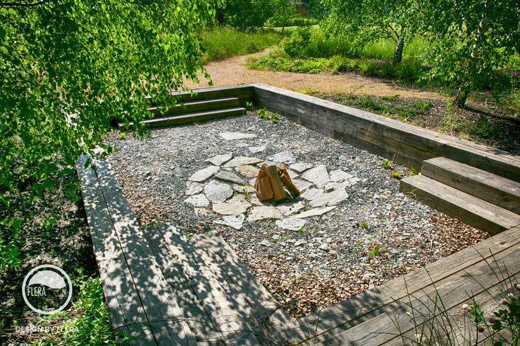 Zahrada s jezerem | Atelier Flera