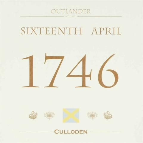 Outlander-inspired Greeting Card of Outlander Film Locations - Culloden