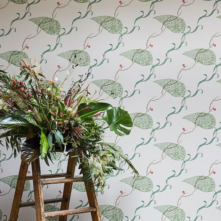 Edward Bawden Seaweed wallpaper for St Jude's