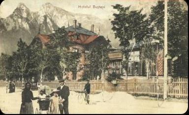 Busteni - Hotelul Busteni - 1908
