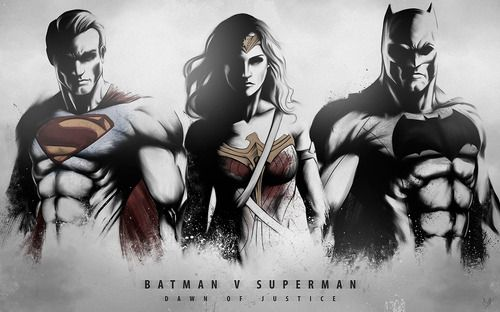 Batman v Superman: Dawn of Justice fan art by Nimesh Niyomal