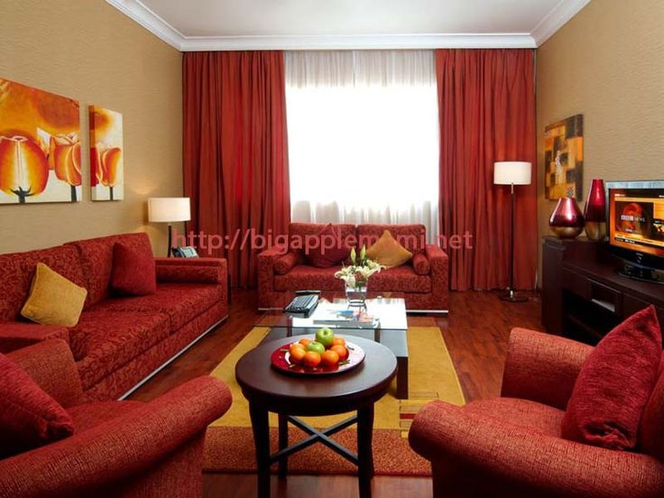 Elegant Cool Red Accessories For Living Room Part 7