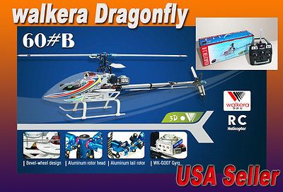 Other RC and Control Line 168248: New 3D 7Ch Rc Remote Helicopter Walkera Dragonfly 60B 60 B -In Usa Fast Shipping -> BUY IT NOW ONLY: $238 on eBay!
