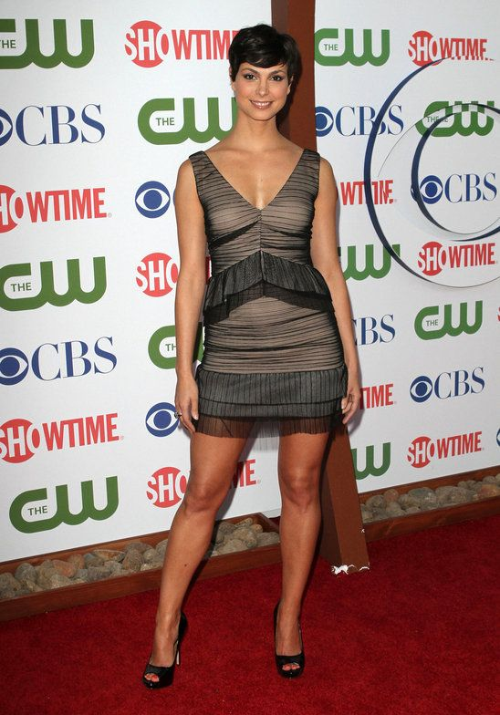 Women in very short dresses